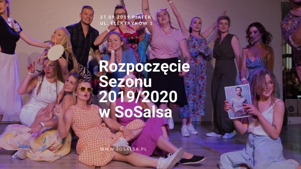 Rozpoczęcie Sezonu Tanecznego SoSalsa