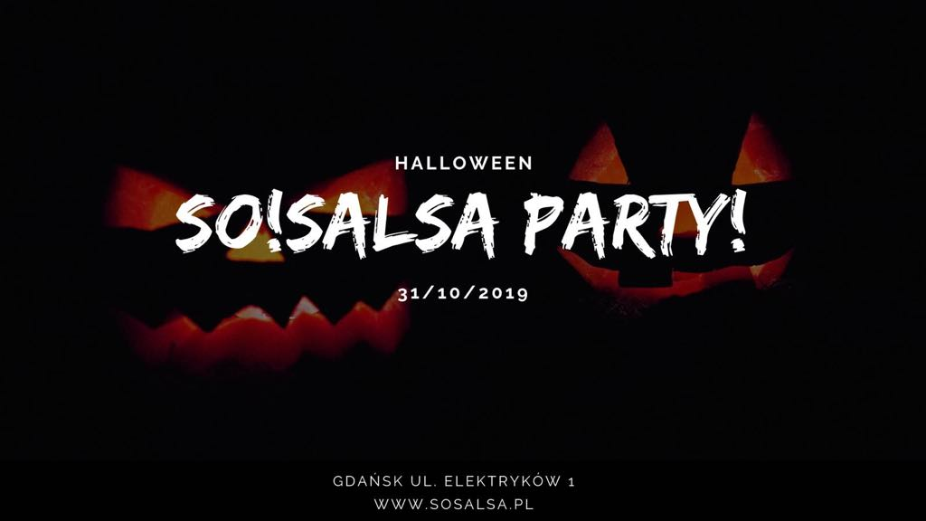 Halloween SO!SALSA PARTY 31.10.2019