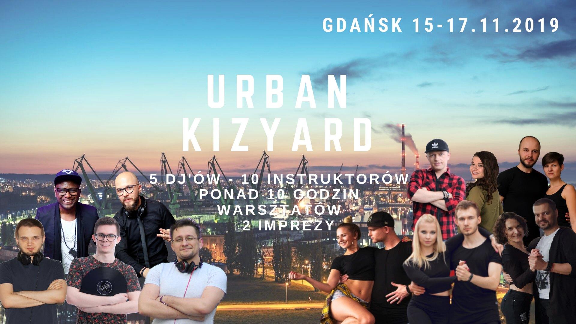 Urban Kizyard 15.11 - 17.11.2019