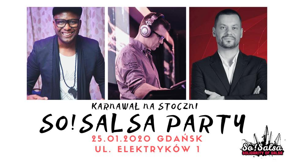 So!Salsa Party Karnawał na Stoczni