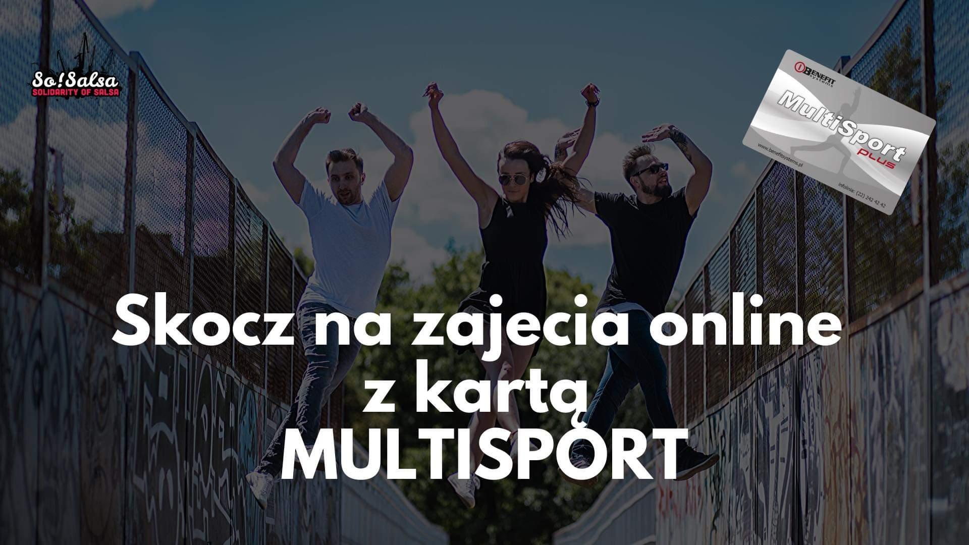 Multisport aktywny na platformie online www.livesosalsa.pl