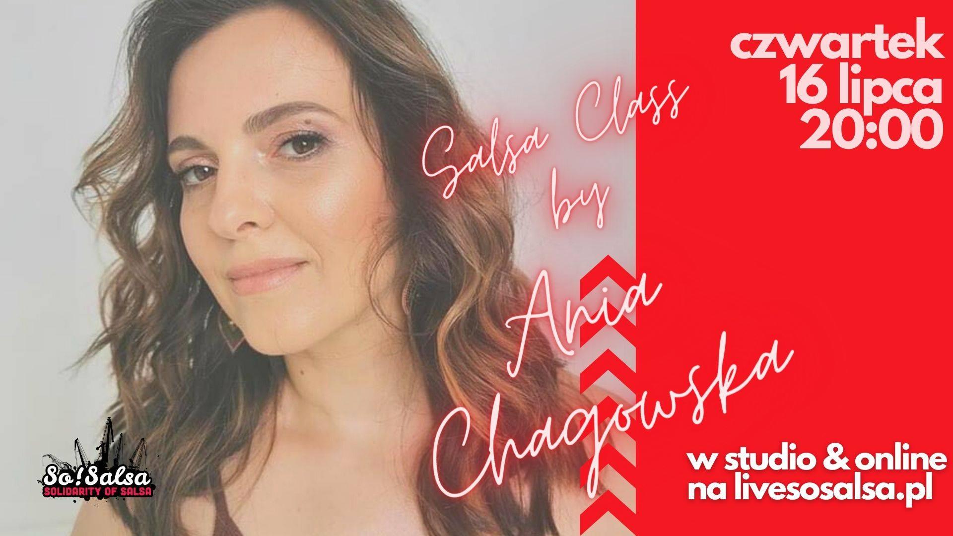 Salsa Class z Anią Chagowską - w studio & online!