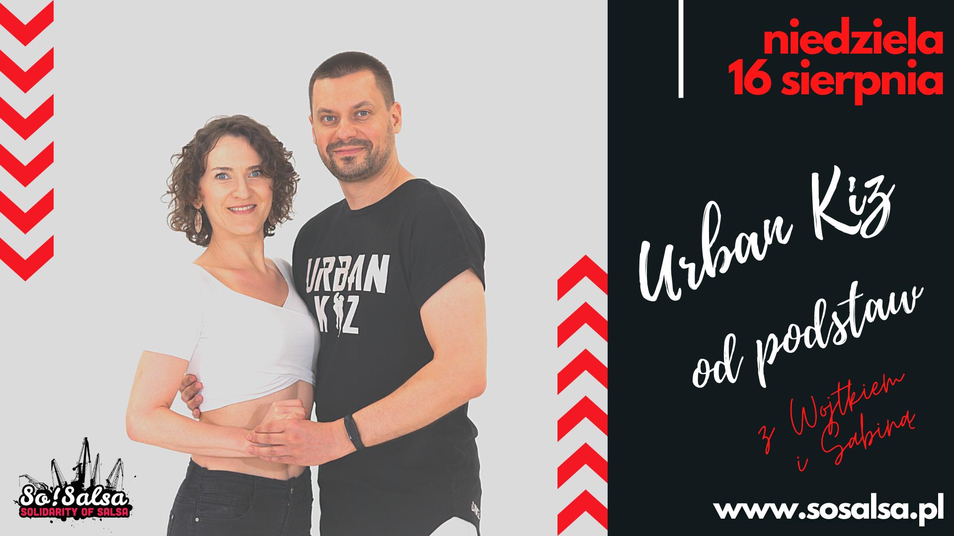 Kurs Urban Kiz - dla początkujących 16/08/2020 w So!Salsa