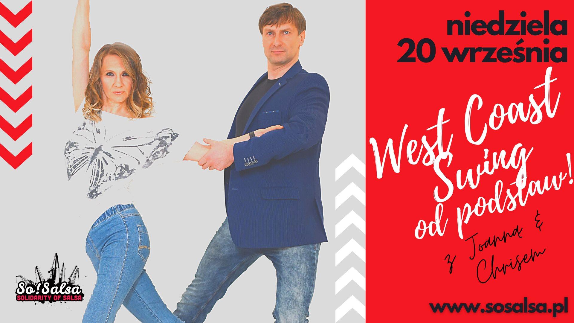 Kurs West Coast Swing - dla początkujących 20/09/20