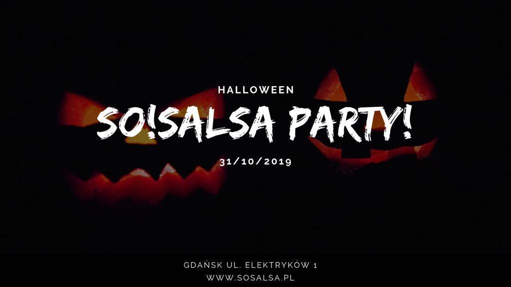 Halloween SO!SALSA PARTY 31.10.2019