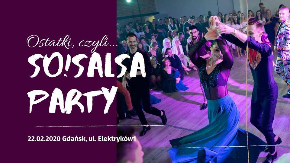Ostatki!!! So!Salsa Party