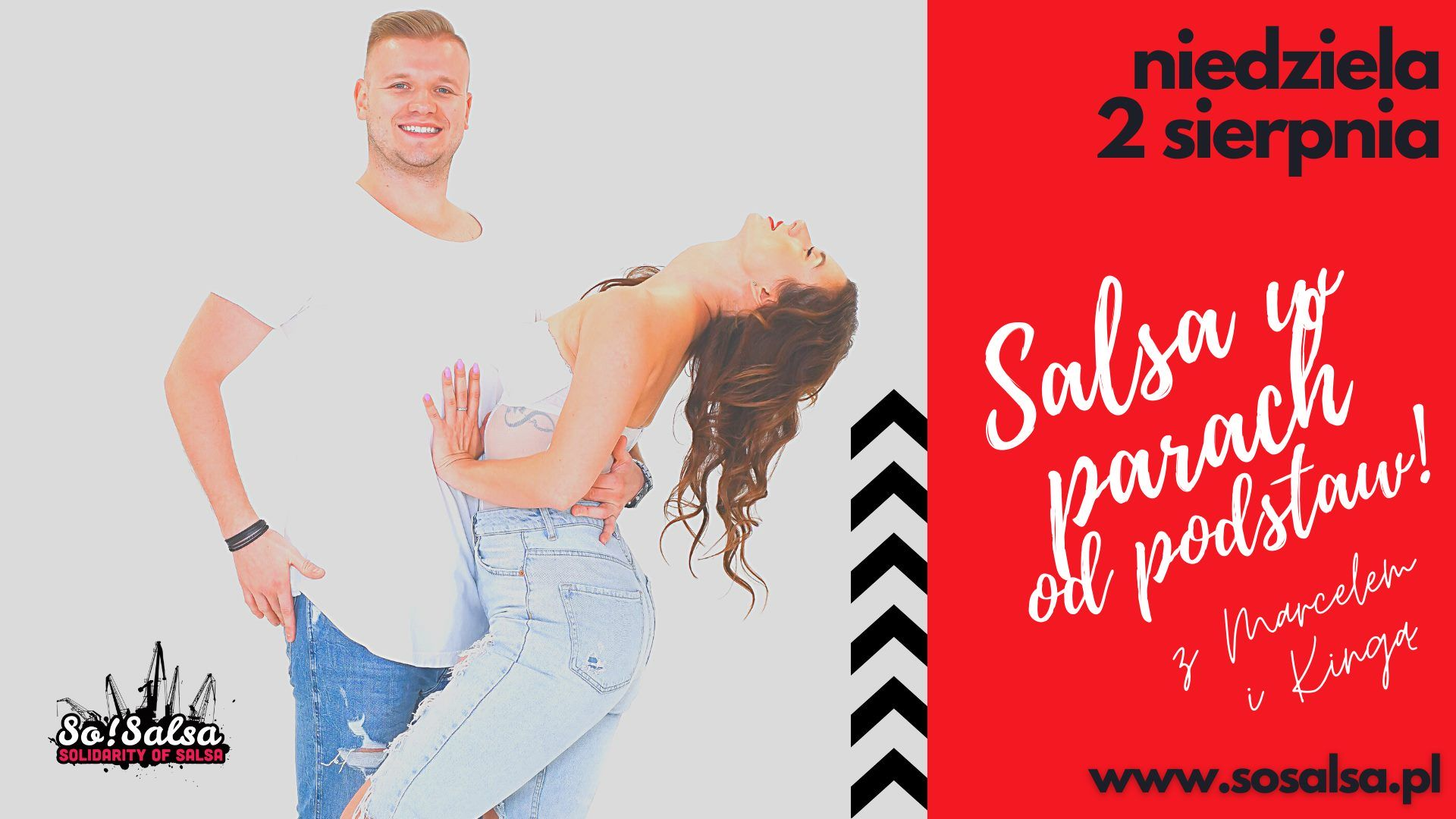 Crash Course Salsa - dla początkujących 02/08/2020