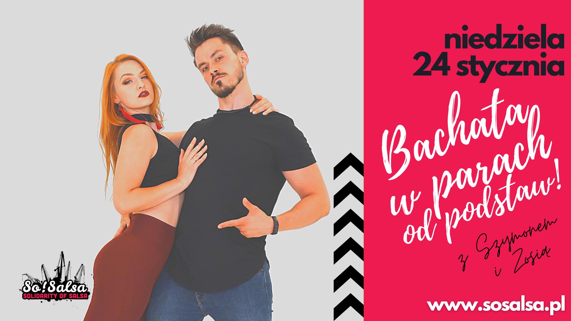 Kurs Bachaty - dla początkujących 24/01/2021 w So!Salsa