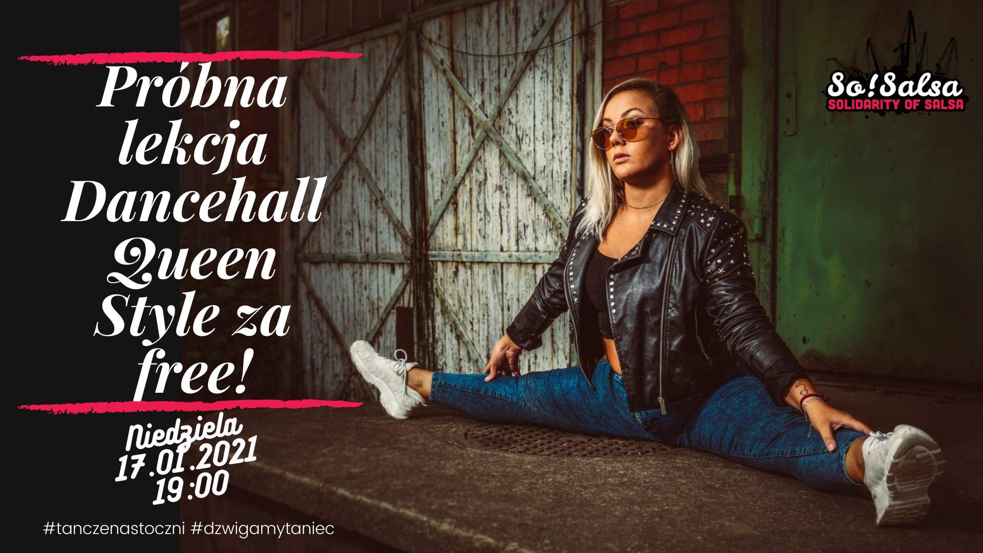 Lekcja za free Dancehall Queen Style