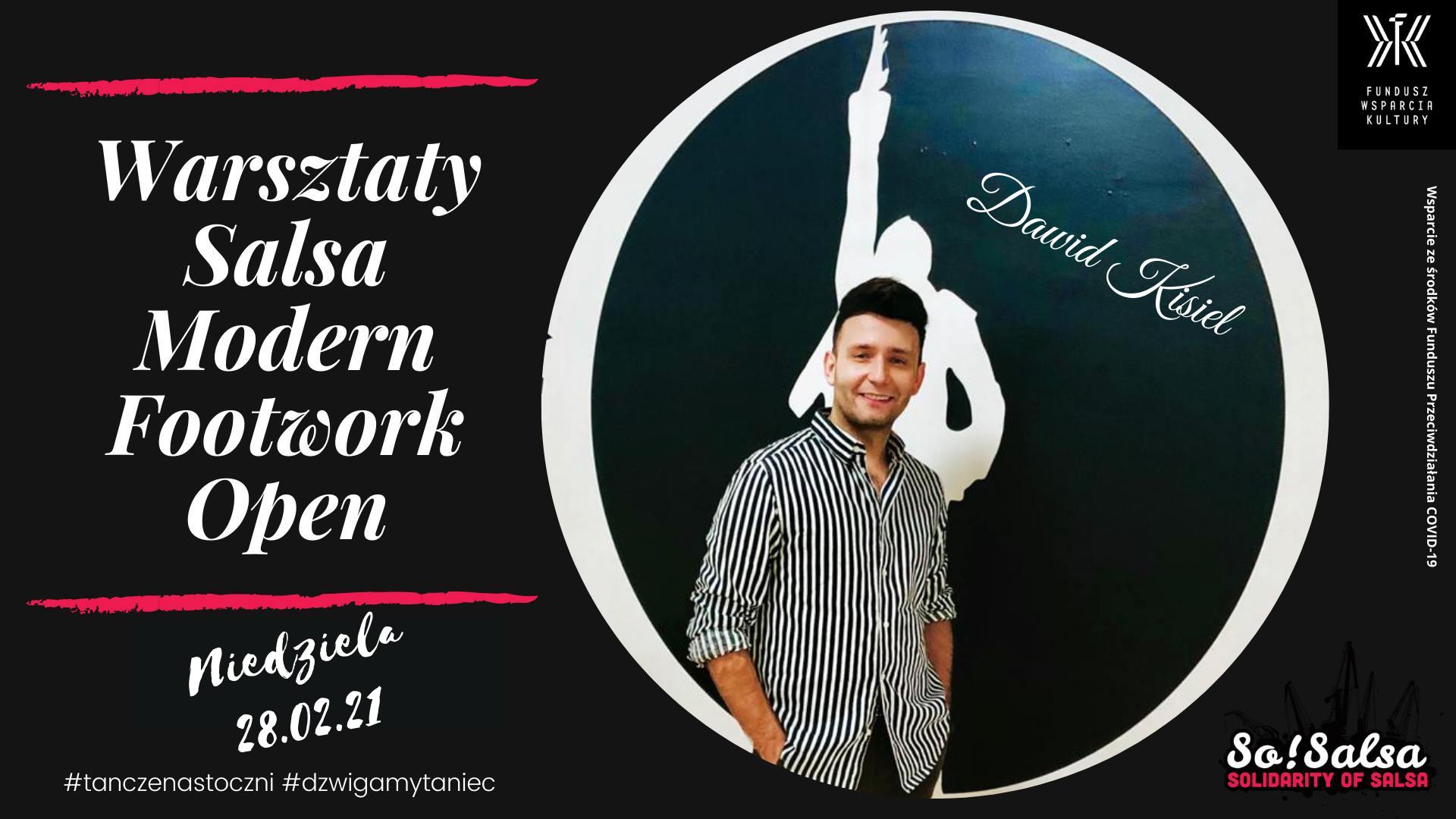Warsztaty Salsa Modern Footwork- Dawid Kisiel w SoSalsa