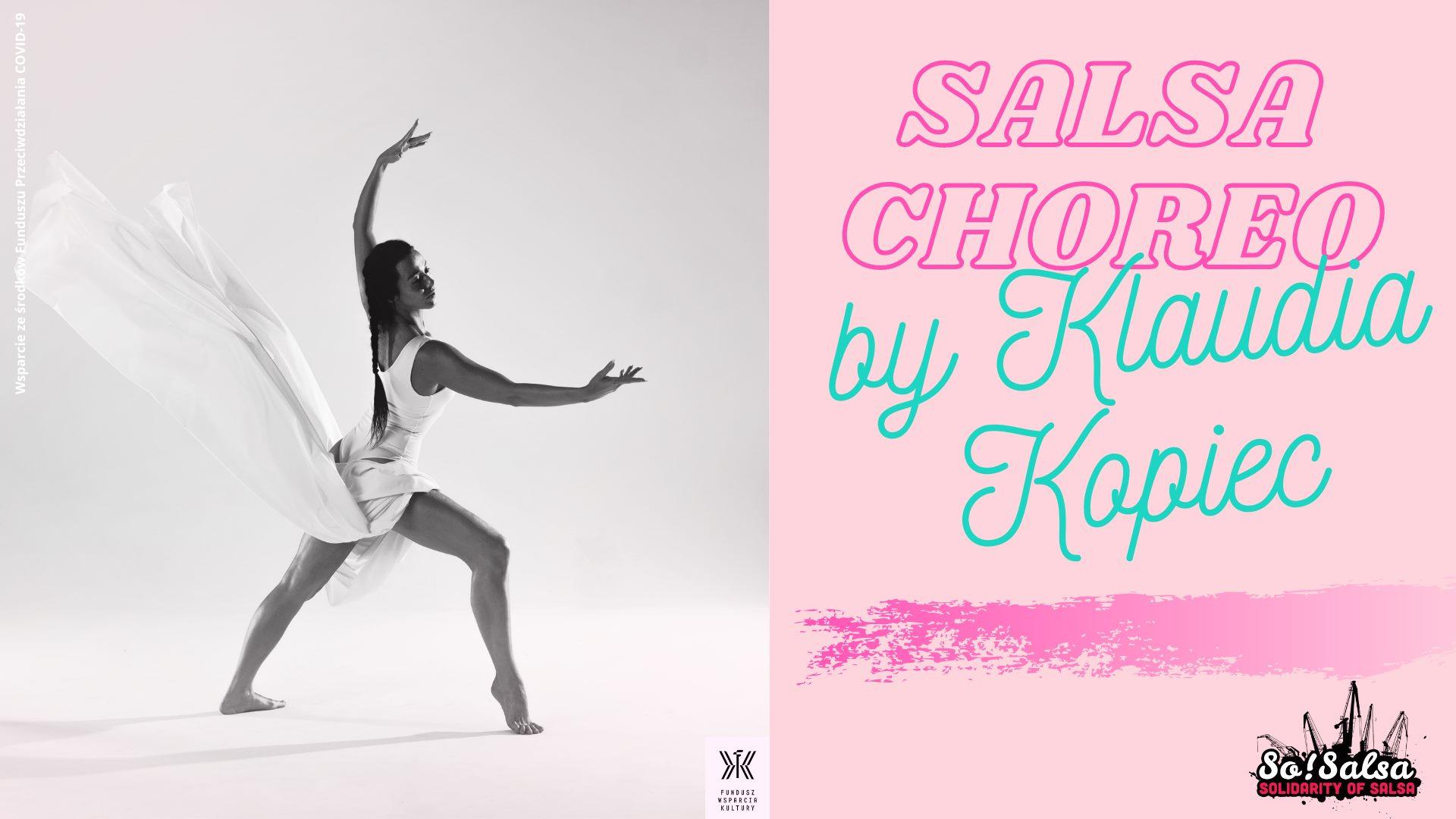 Salsa Choreo by Klaudia Kopiec - start 09/02/21