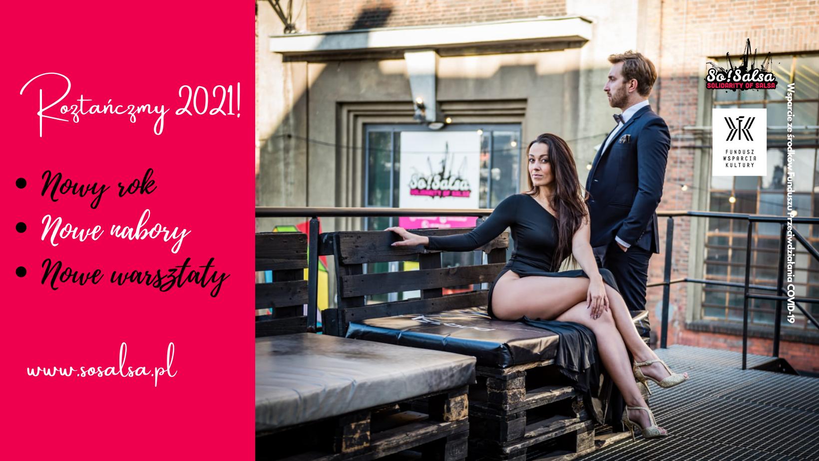Nowe nabory - wchodzimy w 2021 z So!Salsa tanecznym krokiem!