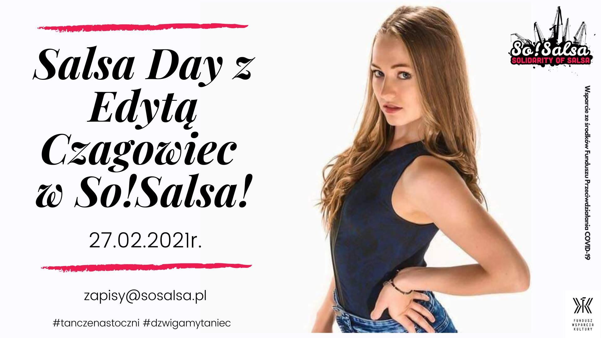 Salsa Day z Edytą Czagowiec w So!Salsa