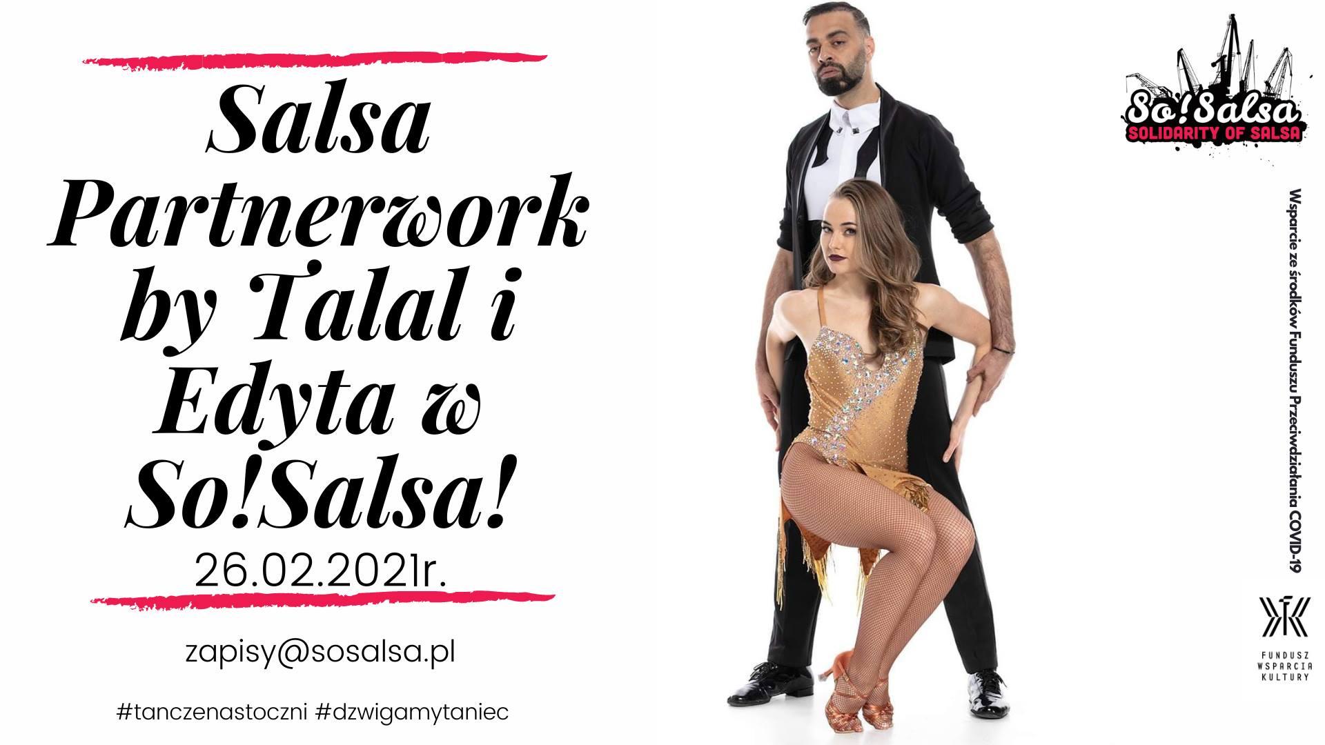 Salsa Partnerwork by Talal & Edyta w SoSalsa!