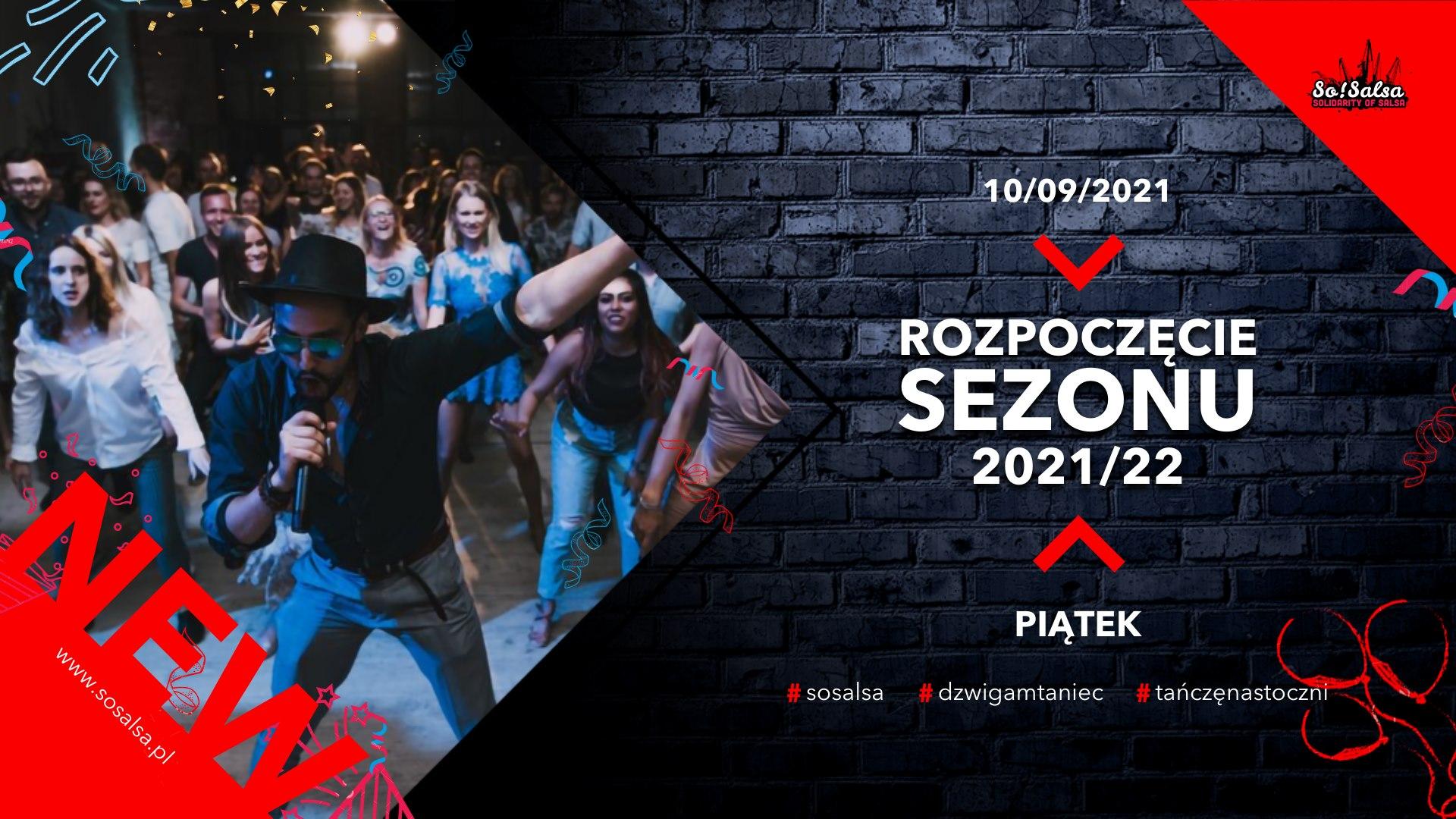 Rozpoczęcie nowego sezonu tanecznego w So!Salsa + koncert zespołu Ines!