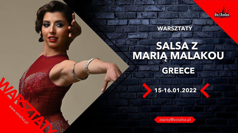 Maria Malakou (Greece) w So!Salsa - warsztaty salsy on2!